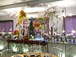 only by Juan Carlo The Caterer, Inc.