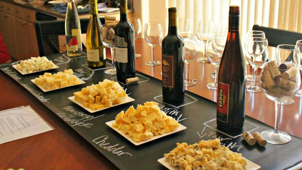 wine cheese corporate catering
