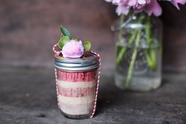 Wedding Catering Cake in Jar