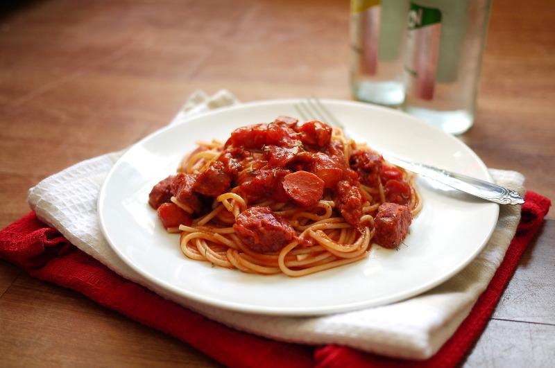 catering filipino style spaghetti