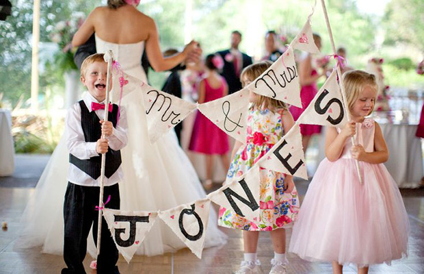 kids wedding catering