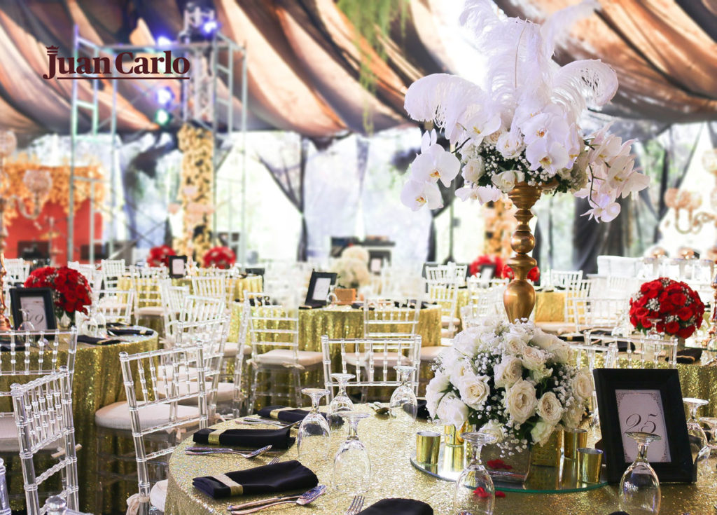 Venue setting in your wedding package
