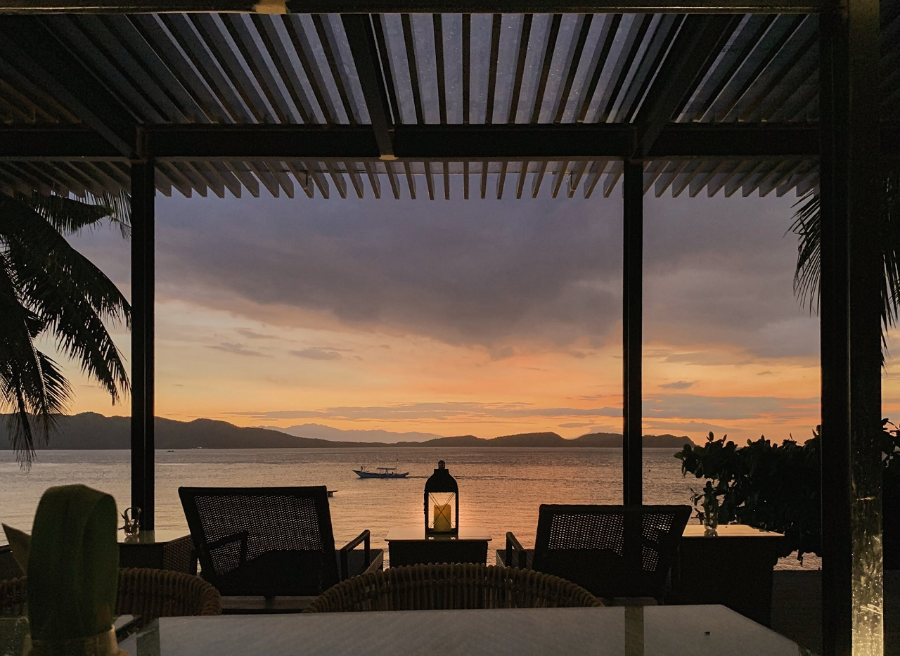Sunset view at Vivere Azure
