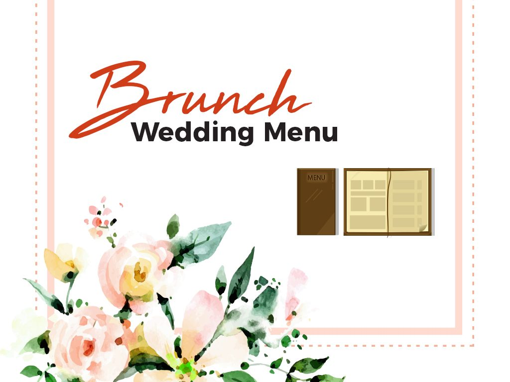 Brunch Wedding Menu