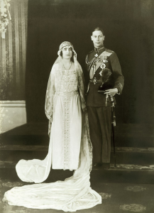 King George VI and Queen Elizabeth Bowes-Lyon