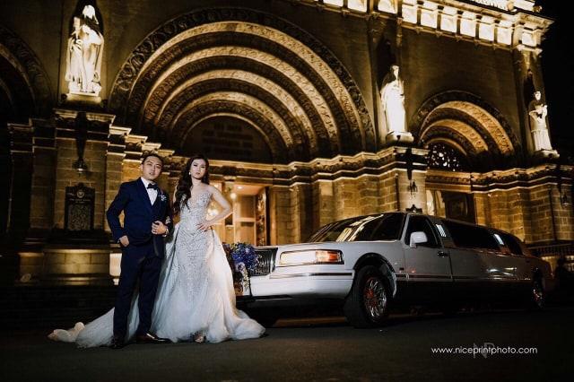 Jc Wedding Couple Car