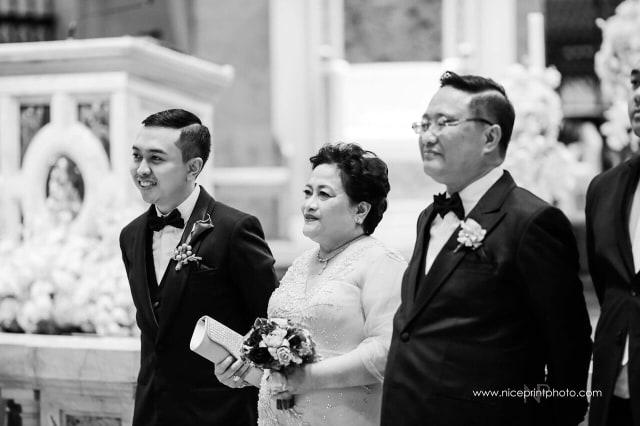 Jc Wedding Groom With Parents