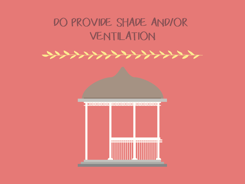 Do Provide Shade And Or Ventilation