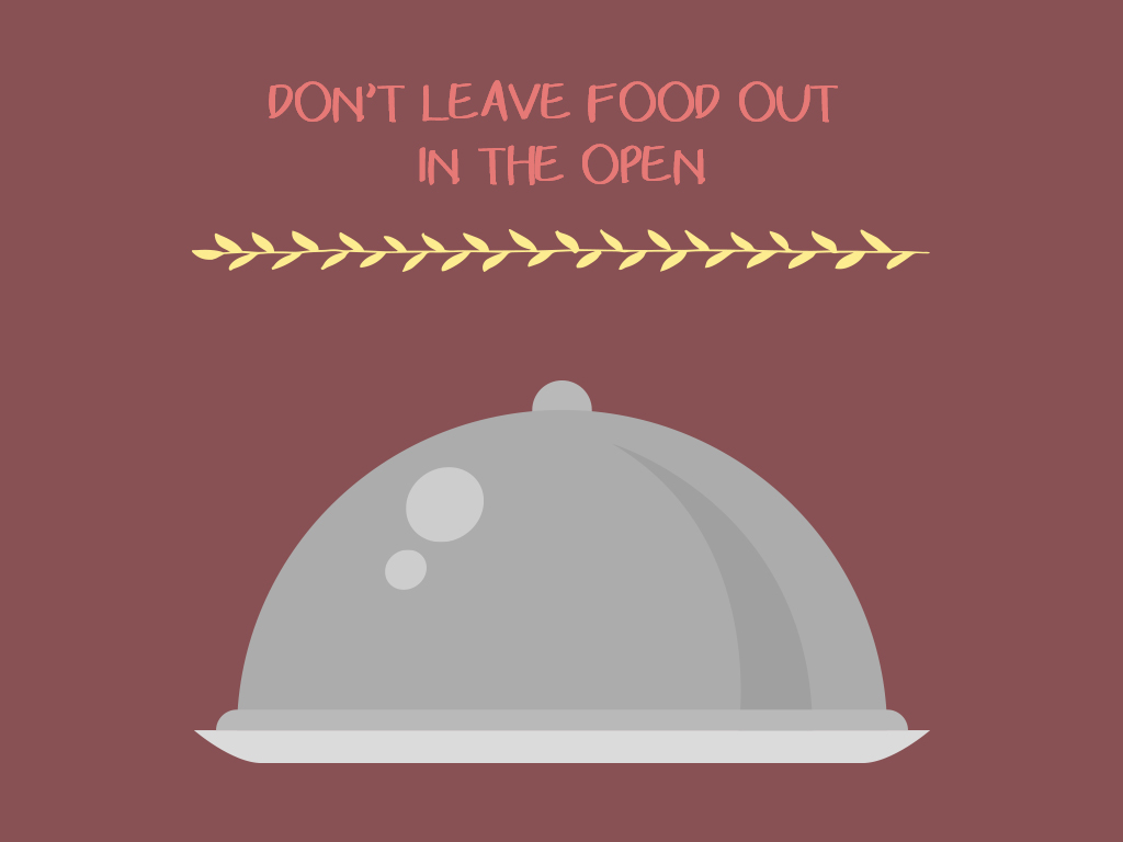 Don't Leave Food Out In The Open