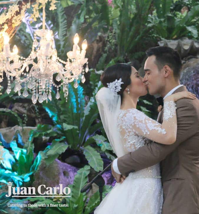 Juan Carlo's wedding catering service not only meets standards; it goes way beyond them