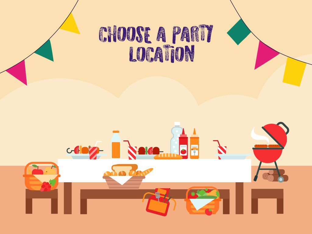 Choose A Party Location