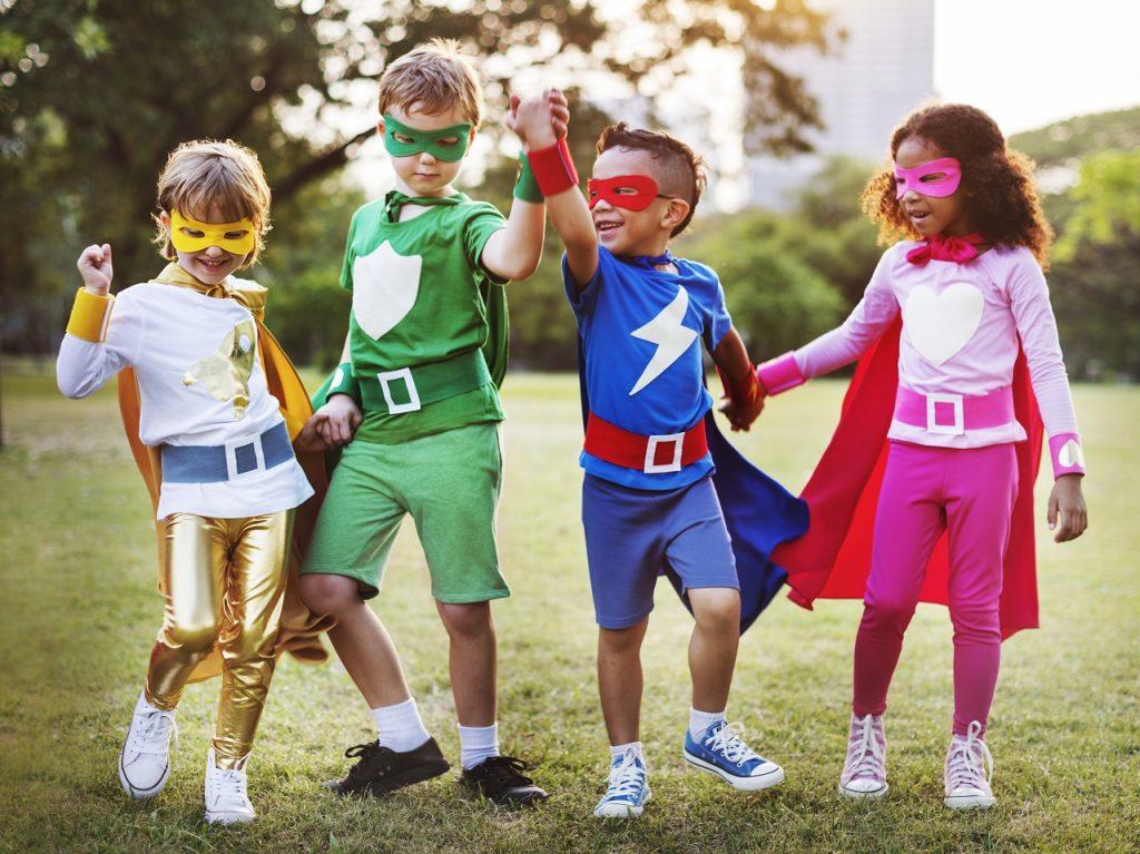 Superhero and Cartoons