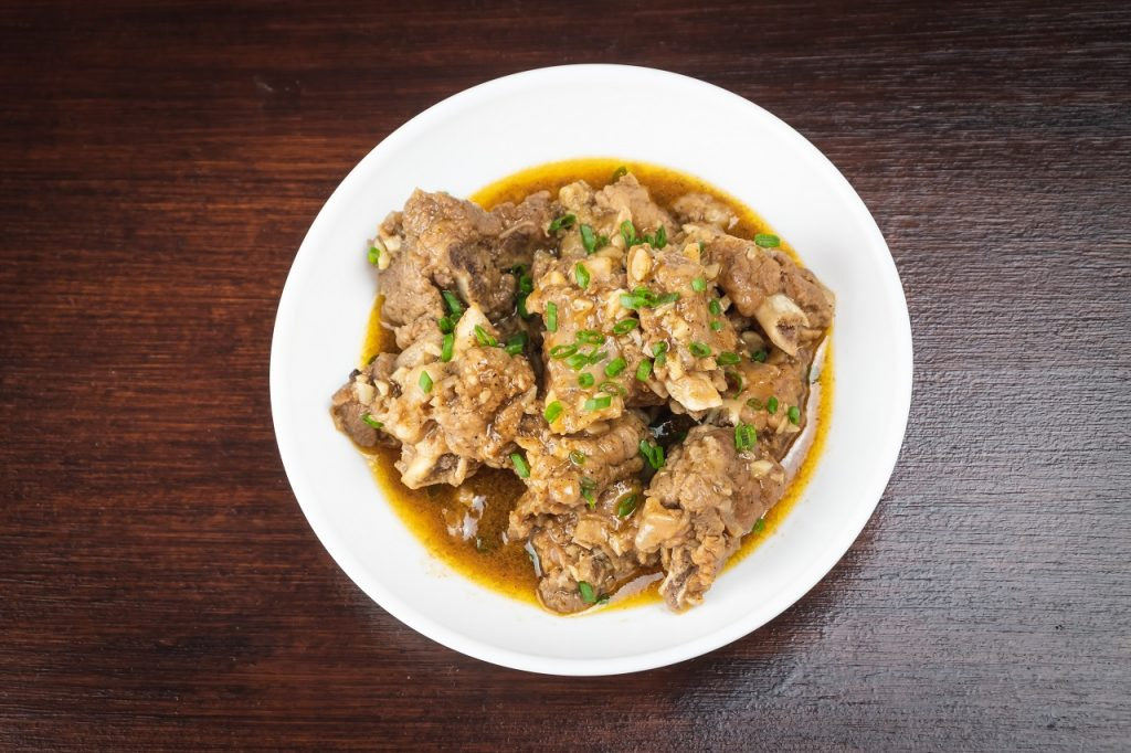 Steamed or Braised Meat