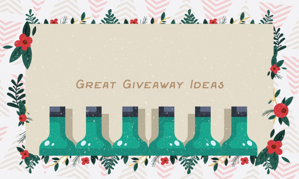 Great Giveaway Ideas