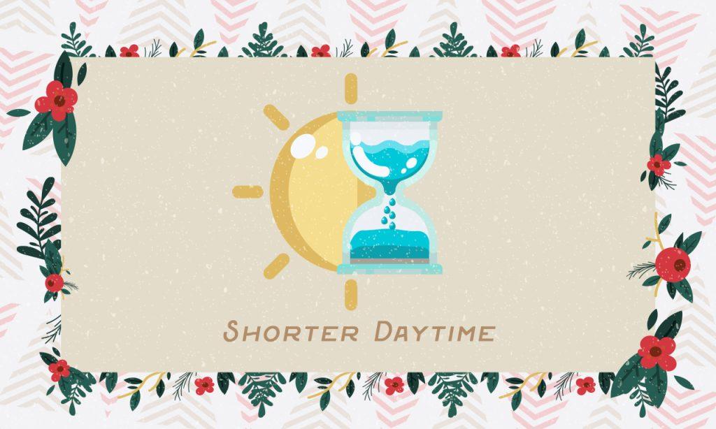 Shorter Daytime