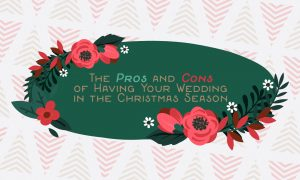 The Pros And Cons Of Having Your Wedding In The Christmas Season Cover