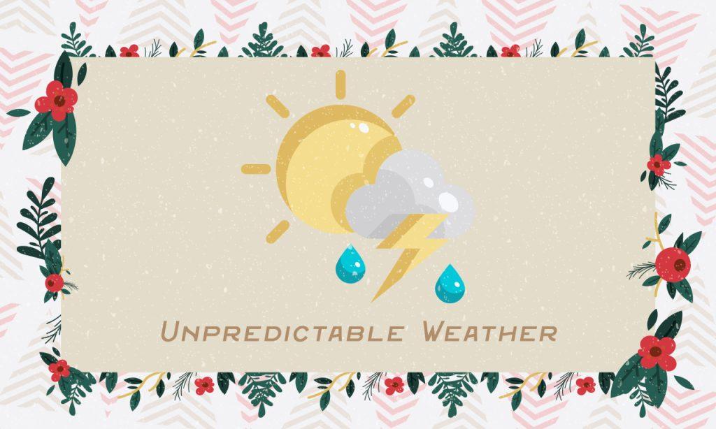 Unpredictable Weather
