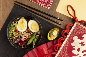 Noodles for the Chinese New Year