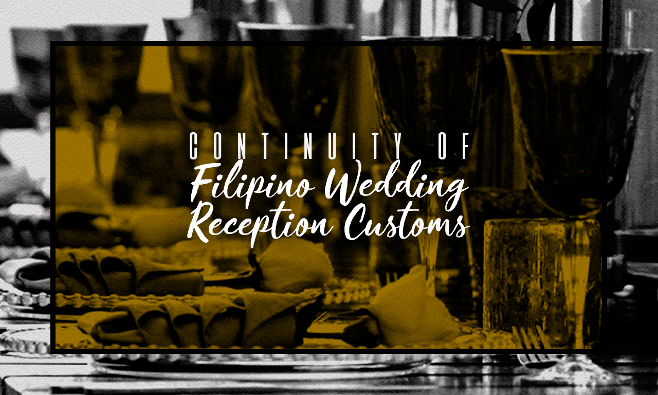 A table at a wedding reception