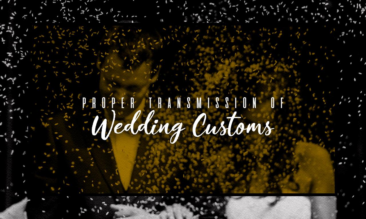 A Filipino bride and groom