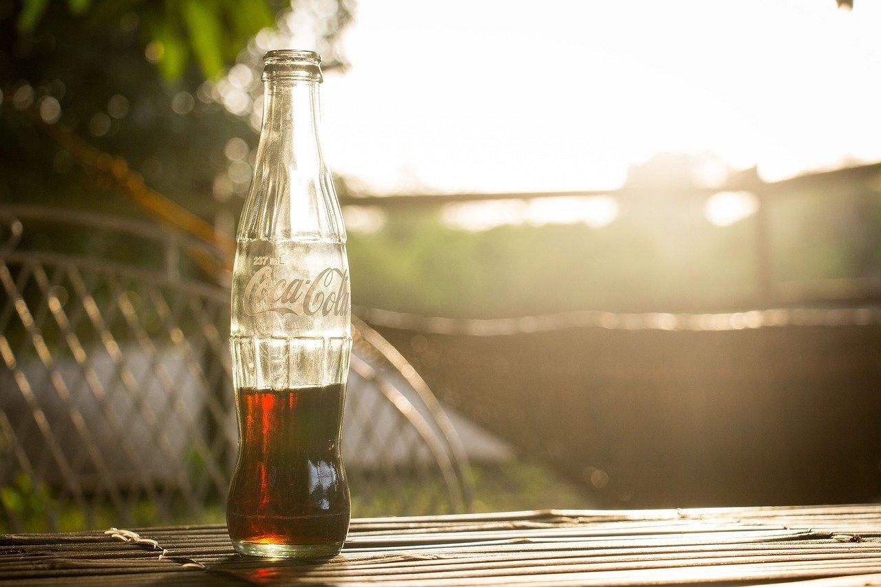 Retro Soda Pop Bottle