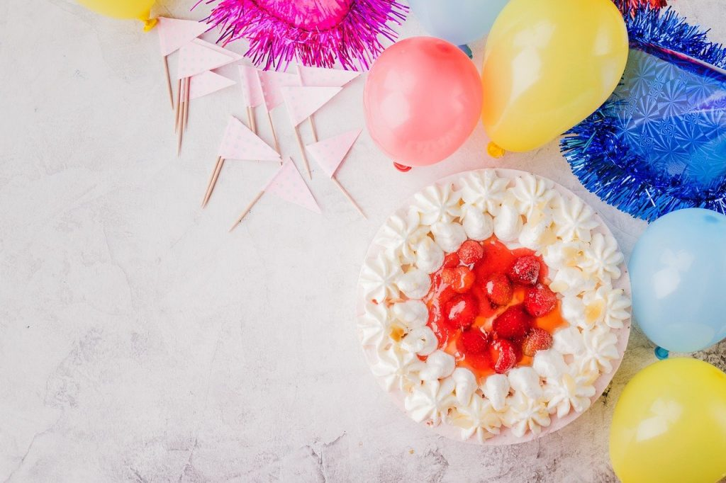 Think Of Your Party Theme