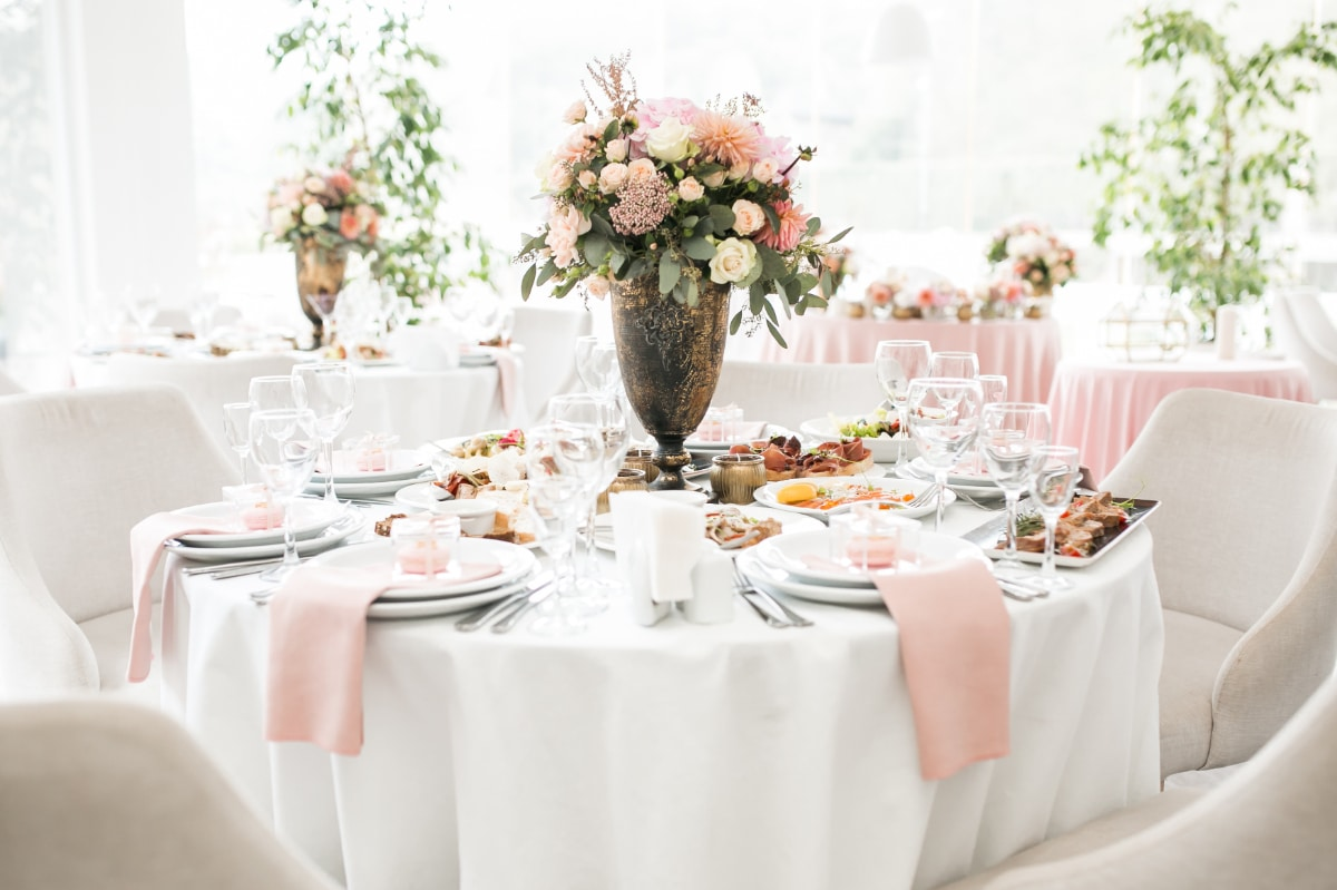 Be Creative With Centerpieces